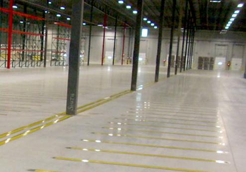 Interior Floor Marking