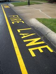 Met Parking Services >> Is Your Fire Lane in Compliance? | Otto's Parking Marking | Indianapolis, IN