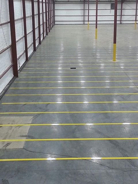 Project Spotlight: Warehouse Striping for Beck's Hybrids, Waveland, IN
