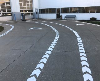 Not Your Standard Striping
